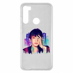 Чехол для Xiaomi Redmi Note 8 Bts Jin