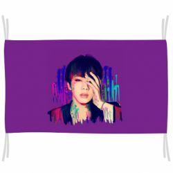 Флаг Bts Jin