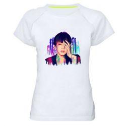 Женская спортивная футболка Bts Jin