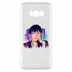 Чехол для Samsung S8 Bts Jin