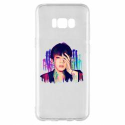 Чехол для Samsung S8+ Bts Jin