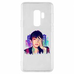 Чехол для Samsung S9+ Bts Jin