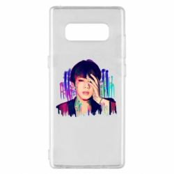 Чехол для Samsung Note 8 Bts Jin