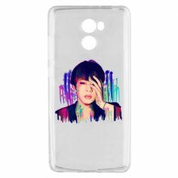 Чехол для Xiaomi Redmi 4 Bts Jin