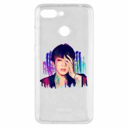 Чехол для Xiaomi Redmi 6 Bts Jin