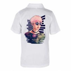 Дитяча футболка поло Bts Kim