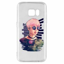 Чохол для Samsung S7 Bts Kim