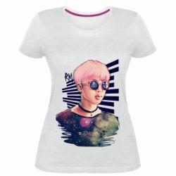 Жіноча стрейчева футболка Bts Kim