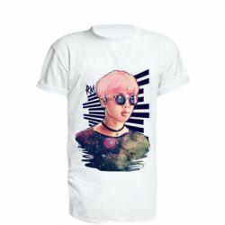 Подовжена футболка Bts Kim