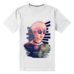 Чоловіча стрейчева футболка Bts Kim
