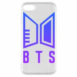 Чохол для iPhone 7 Bts logo gradient