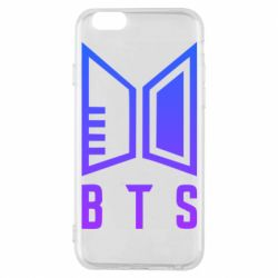 Чехол для iPhone 6/6S Bts logo gradient