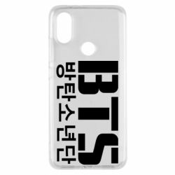 Чехол для Xiaomi Mi A2 Bts logo
