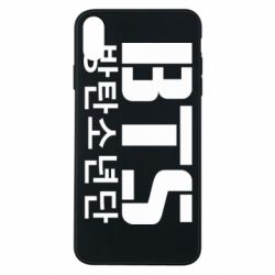 Чехол для iPhone Xs Max Bts logo