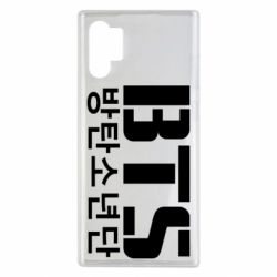 Чехол для Samsung Note 10 Plus Bts logo