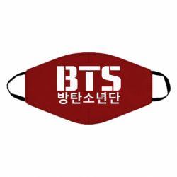 Маска для лица Bts logo