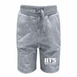 Детские шорты Bts logo