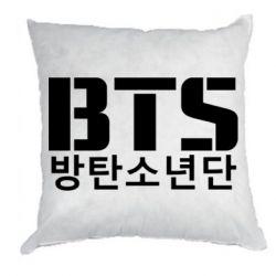 Подушка Bts logo