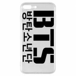 Чехол для iPhone 7 Plus Bts logo