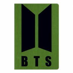 Блокнот А5 BTS logotype