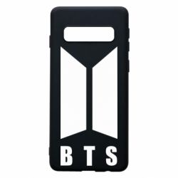Чехол для Samsung S10 BTS logotype