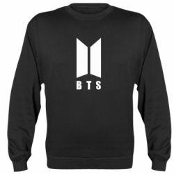 Реглан (свитшот) BTS logotype