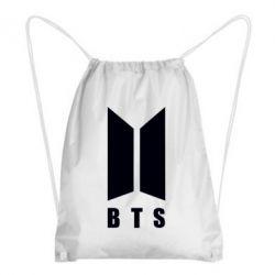 Рюкзак-мешок BTS logotype