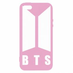 Чохол для iphone 5/5S/SE BTS logotype