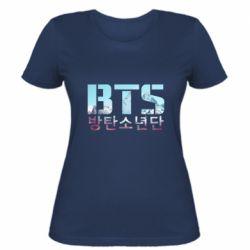 Женская футболка Bts the mountains