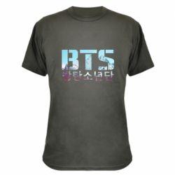 Камуфляжная футболка Bts the mountains
