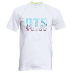 Мужская спортивная футболка Bts the mountains
