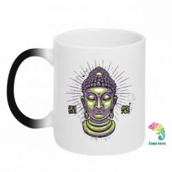 Кружка-хамелеон Будда