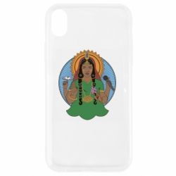 Чехол для iPhone XR Buddha pop girl