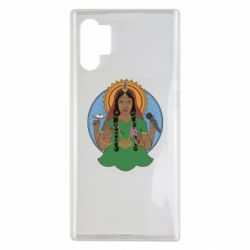 Чехол для Samsung Note 10 Plus Buddha pop girl