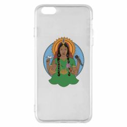 Чехол для iPhone 6 Plus/6S Plus Buddha pop girl