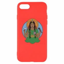 Чехол для iPhone 7 Buddha pop girl