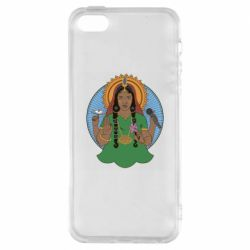 Чехол для iPhone5/5S/SE Buddha pop girl