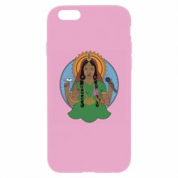 Чехол для iPhone 6/6S Buddha pop girl