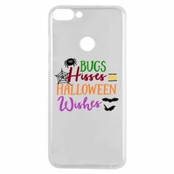 Чехол для Huawei P Smart Bugs Hisses and Halloween Wishes - FatLine