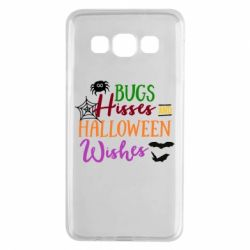 Чехол для Samsung A3 2015 Bugs Hisses and Halloween Wishes - FatLine