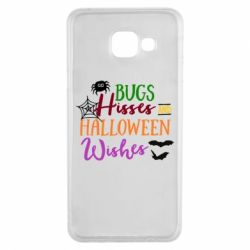 Чехол для Samsung A3 2016 Bugs Hisses and Halloween Wishes - FatLine