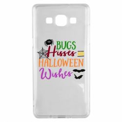 Чохол для Samsung A5 2015 Bugs Hisses and Halloween Wishes