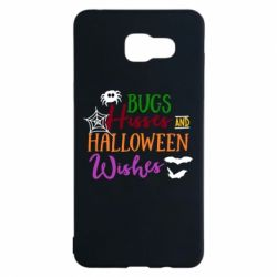 Чохол для Samsung A5 2016 Bugs Hisses and Halloween Wishes