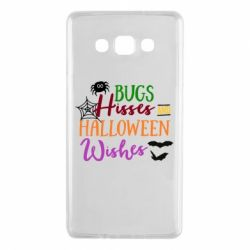 Чехол для Samsung A7 2015 Bugs Hisses and Halloween Wishes - FatLine