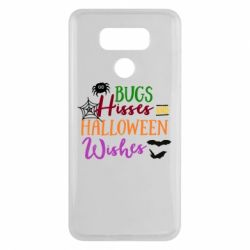 Чехол для LG G6 Bugs Hisses and Halloween Wishes - FatLine