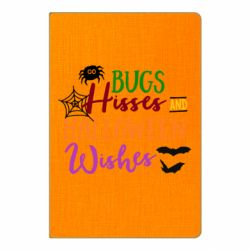 Блокнот А5 Bugs Hisses and Halloween Wishes