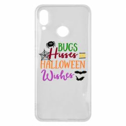 Чехол для Huawei P Smart Plus Bugs Hisses and Halloween Wishes - FatLine