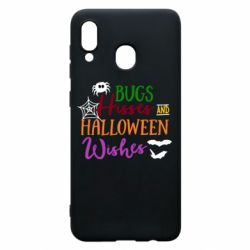 Чохол для Samsung A20 Bugs Hisses and Halloween Wishes