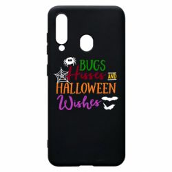 Чохол для Samsung A60 Bugs Hisses and Halloween Wishes
