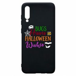 Чохол для Samsung A70 Bugs Hisses and Halloween Wishes